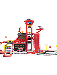 cheap -Parking Garage Toy Sets Ambulance Vehicle Fire Engine Vehicle Toys Simulation Toys Plastic ABS Creative Classic & Timeless 1 Pieces Boys'