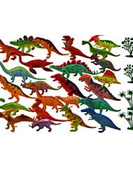 cheap -Dragon & Dinosaur Toy / Model Building Kit / Dinosaur Figure Jurassic Dinosaur / Tyrannosaurus / Velociraptor Animals / Simulation Plastic