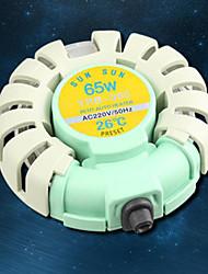 abordables -Aquarium Chauffages 65W 220V Métal
