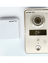 ACTOP WiFi video door phone door camera wireless doorbell interfone with RFID card reader for door access security