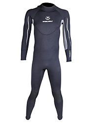 cheap -WINMAX Men's 3mm Full Wetsuit Waterproof Thermal / Warm Quick Dry Insulated Breathable Compression Neoprene Diving Suit Long Sleeves