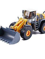 abordables -Véhicule de Construction Chargeur Sur Pneus Camions Véhicules de Construction Petites Voiture 1h50 Métallique Enfant Unisexe Garçon Fille Jouet Cadeau