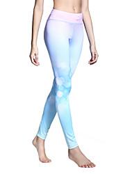 Mujer Pantalones de Running Secado rápido Transpirable Medias/Mallas Largas Leggings Prendas de abajo Yoga Pilates Ejercicio y Fitness