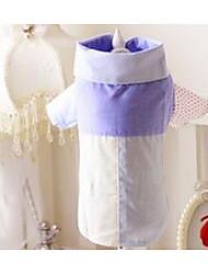 preiswerte -Hund T-shirt Hundekleidung Niedlich Lässig/Alltäglich Streifen Rosa Hellblau Kostüm Für Haustiere