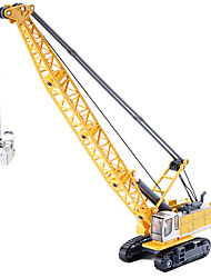 cheap -Toy Cars Construction Vehicle Toys Tower Excavating Machinery Metal Alloy Metal Pieces Kids Unisex Gift