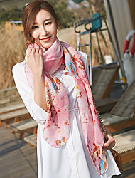 cheap -Korea Cotton and Linen Retro Scarf Shawl Thin Long Rectangle Women's Beach UV Sunscreen Bohemia Print