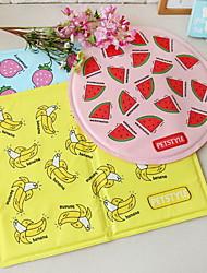 Cachorro Cobertura de Cadeira Automotiva Animais de Estimação Capachos e Alcochoadas Fruta Prova-de-Água Dobrável Amarelo Azul Rosa claro