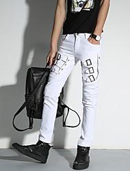 giovani uomini coreani versione di primavera e l'estate personalità pantaloni casual piedi pantaloni lunghi pantaloni a matita marea notte
