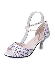 Women's Shoes Libo New Style Hot Sale Party / Wedding Sexy Fashion Stiletto Heel Sandals White / Pink