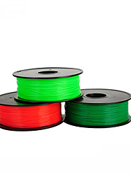 Pla Supplies 0.5Kg 3D Printing Supplies For Rapid Prototyping Of High-Quality Printed Silk  	Anet 5 Colors Optional