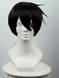cheap -Synthetic Cosplay Wigs Not the magic of the lecturer with the taboo of the Code of Glen Lundas black pony Heat Friendly Fiber wig