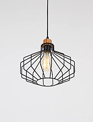 cheap -Rustic/Lodge Country Modern/Contemporary LED Pendant Light Ambient Light For Living Room Bedroom Dining Room Study Room/Office Yellow