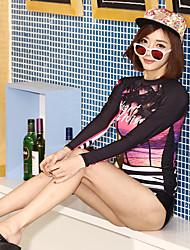 economico -SBART Per donna Dive Skins Ompermeabile Resistente ai raggi UV Traspirabilità alta (> 15001 g) Traspirante Crema solare Chinlon Scafandro