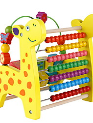 cheap -Xylophone Toy Abacuses Educational Toy Toys Multi-Functional Fun Education Deer Giraffe Wooden Bead Pieces Kid's Kids Children's Boys'