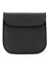 Fidget Hand Spinner Finger bag Solid Color PU Leather Earphone Universal Case