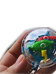 Gioco da tavolo Palline Giocattoli scientifici Puzzle Labirinto Giocattoli Giocattoli Circolare 3D Per bambini Unisex Pezzi