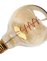 1pc 4W G95 Soft Led Filament Light LED Vintage Lamp AC220-240V