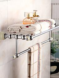 cheap -Bathroom Shelf Modern Brass 1 pc - Hotel bath Double