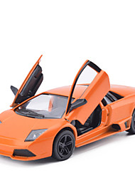Недорогие -Игрушечные машинки Грузовик Полицейская машинка Игрушки моделирование Автомобиль Металлический сплав Металл Куски Универсальные Подарок