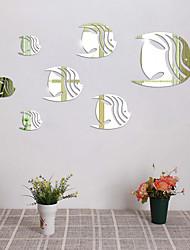 Romance Moda Lazer Adesivos de Parede Autocolantes 3D para Parede Autocolantes de Parede Espelho Autocolantes de Parede Decorativos,Vidro
