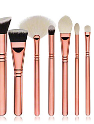 8pcs Contour Brush Makeup Brush Set Blush Brush Eyeshadow Brush Concealer Brush Fan Brush Foundation Brush Synthetic HairFull Coverage