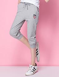 signe coton pantalon verges en vrac gros coréen élève cinquième pantalon de jogging de yoga occasionnels sport