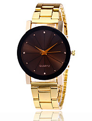 cheap -Men's Quartz Wrist Watch Cool / Casual Watch Alloy Band Casual / Fashion Silver / Gold / Rose