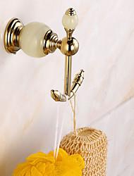 economico -Ganci di Tenda per doccia Moderno Ottone