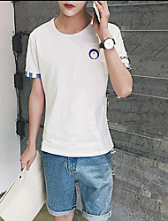 estate nuovi uomini&# 39; s t-shirt a maniche corte il colore del vento polsini aberdeen