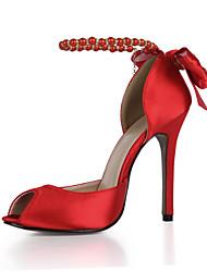 Sandales pour femmes club d'été chaussures soie mariage&Robe de soirée