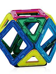 Brinquedos Magnéticos 56 Peças MILÍMETROS Brinquedos Magnéticos Blocos de Construir Blocos magnéticos Conjuntos de construção magnética