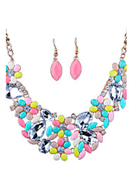 cheap -Women's Rhinestone Imitation Diamond Jewelry Set Earrings Necklace - Luxury Euramerican Fashion Others Jewelry Set For Wedding Party