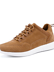 cheap -Men's Athletic Shoes Spring Summer Fall Winter Comfort Linen Outdoor Athletic Casual Lace-up Walking