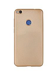 preiswerte -Hülle Für Huawei Honor 5C / Huawei Genießen 5S / Huawei Ultra dünn Rückseite Solide Weich Kohlefaser für P8 Lite (2017) / Honor 8 / Huawei Honor 5C