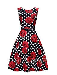 Signer ebay aliexpress explosion modèles rétro hepburn vent s50 taille grande jupe robe avec ceinture