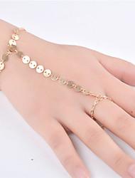 abordables -Femme Chaînes & Bracelets - Mode Forme de Ligne Or Argent Bracelet Pour Soirée Occasion spéciale