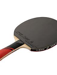 3 Stelle Ping-pong Racchette Ping Pang Gomma Manopola  lunga Brufoli 1 Racchetta 1 Borsa da ping pong