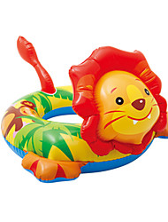 cheap -Lion Donut Pool Float PVC Kids