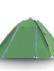 GAZELLE OUTDOORS 3-4 Pessoas Tenda Duplo Barraca de acampamento Um Quarto Barracas de Acampar Leves Á Prova de Humidade Portátil para