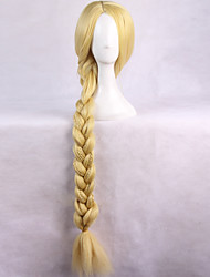Enchanted Rapunzel Golden With Ponytail Anime Cosplay Wigs Wholesale Resale