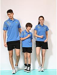 Недорогие -Универсальные Рукав до локтя Спорт Наборы одежды Быстровысыхающий Удобный Бадминтон