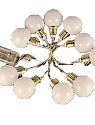 4.5W Fili luminosi <5V 4m 20 leds Bianco caldo Colori primari