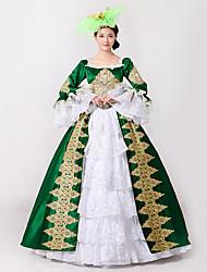 Steampunk®Marie Antoinette Masquerade Victorian Queen Ball Gown Wedding Dress Reenactment Rococo Ball Gown