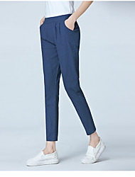 2017 Sign spot cotton pantyhose female new leisure feet loose tight waist harem women