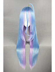 Long Straight NO GAME NO LIFE- Color Mixed 40inch Anime Cosplay Wigs CS-185C