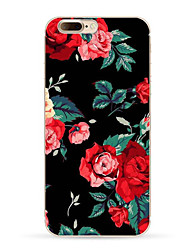 Per iPhone X iPhone 8 iPhone 8 Plus Custodie cover Fantasia/disegno Custodia posteriore Custodia Fiore decorativo Morbido TPU per Apple