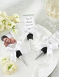 Photo Frame Bottle Stopper Beter Gifts® Wedding Decoration - photo size 4.5 x 4 cm