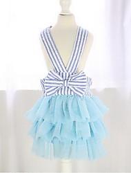 Dog Dress Tuxedo Dog Clothes Cute Birthday Fashion Wedding Princess Blue Blushing Pink Light Blue Light Green Royal Blue