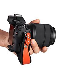 Digital Camera Strap For Universal One-Shoulder  Waterproof Black Orange