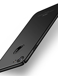 billiga -fodral Till Apple iPhone 8 iPhone 8 Plus Ultratunt Skal Ensfärgat Hårt PC för iPhone 8 Plus iPhone 8 iPhone 7 Plus iPhone 7 iPhone 6s